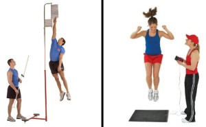 Measure your present vertical jump