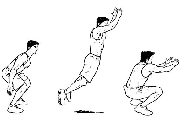 Standing Broad Jumps