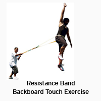 Resistance-Band-Backboard-Touch-Exercise